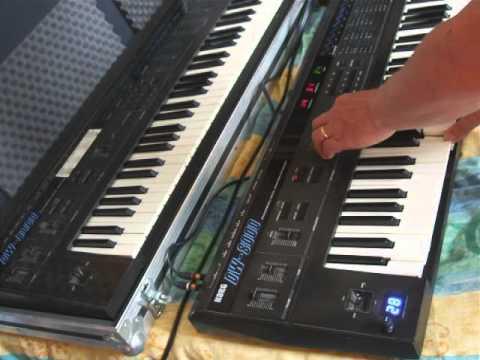 Ulrich Schnauss Korg DW8000 Synthesizer Waveform Expansion Modification