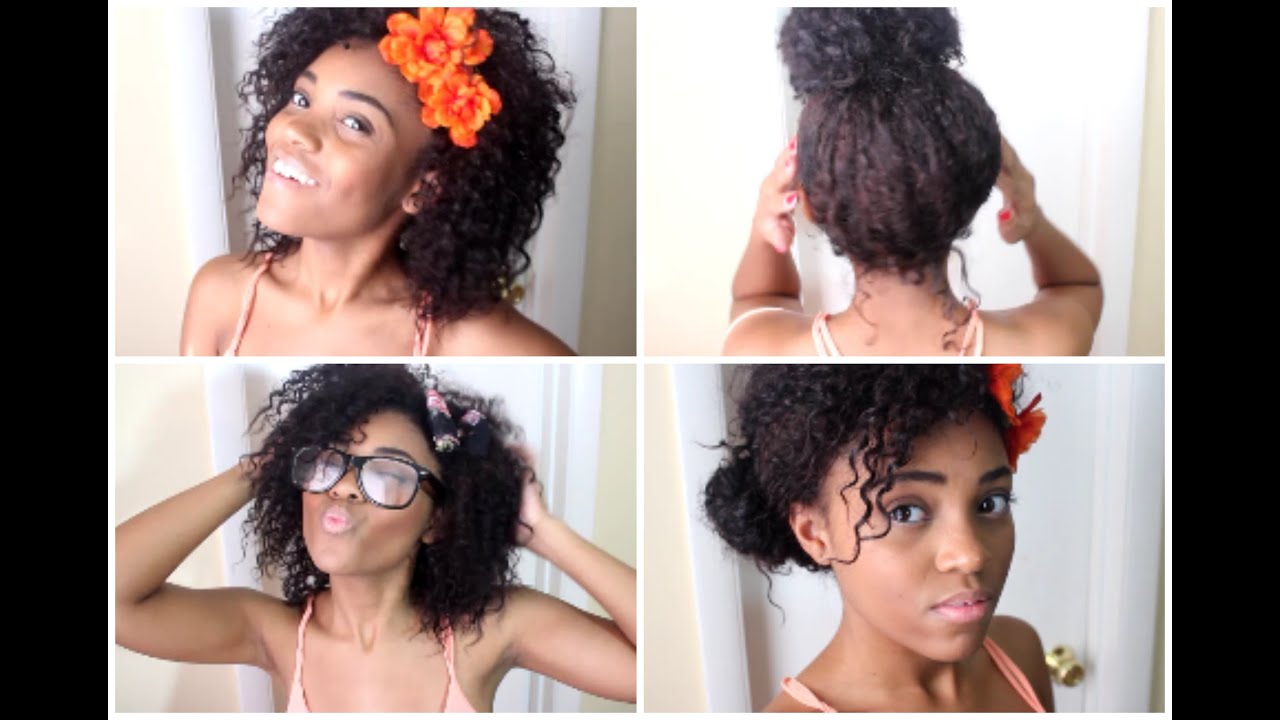 Fantastic Youtube Natural Hairstyles For School Hairstyle Inspiration Daily Dogsangcom