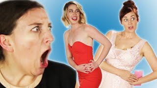 Women Try Prom Dresses From Amazon Feat. Mamrie Hart