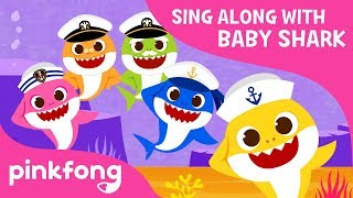 the shark dance sing along with baby shark pinkfong songs for children
