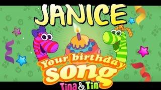 Tina&Tin Happy Birthday JANICE