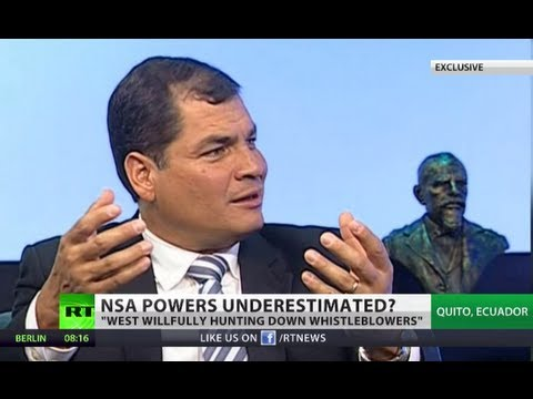 'Surveillance can't be tolerated' - Correa exclusively to RT