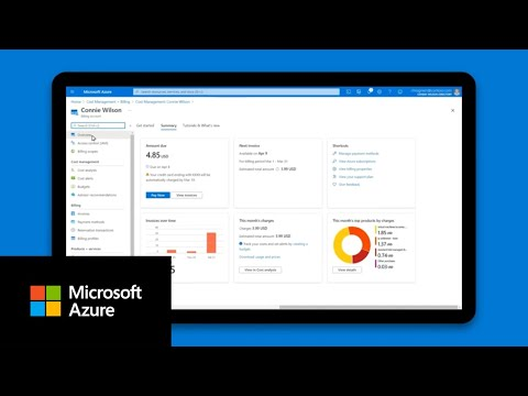 New Microsoft Azure billing experience