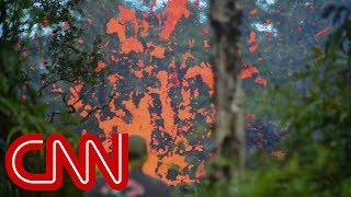 Hawaii residents flee after Kilauea volcano eruptions