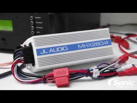 SONIC ELECTRONIX CERTIFIED AMP:JL Audio MHX280/4
