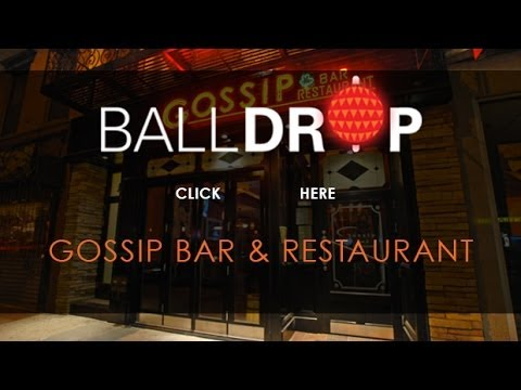 BallDrop.com Presents New Years Eve at Gossip Bar Times Square - 212-201-0735