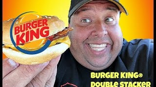 BK® Double Stacker REVIEW!