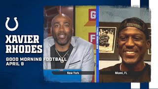 Rhodes Open or Rhodes Closed? Xavier Rhodes Visits Good Morning Football