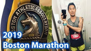 2019 Boston Marathon weekend and Race Recap