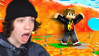 EXTREME Would You Rather vs My Little Brother in Minecraft!