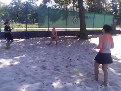 Beach Centrum - trénink začátečníků 7.9.2014