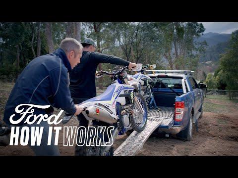 Slik laster du sykler på baksiden av Ford Ranger-pickupen| Ford Ranger | Ford Norge
