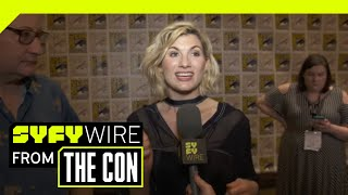 Doctor Who's Jodie Whittaker And New Companions Preview The New Season | SDCC 2018 | SYFY WIRE