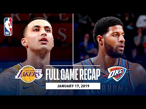 Full Game Recap: Lakers vs Thunder | Kuzma Goes Off For 32 Points