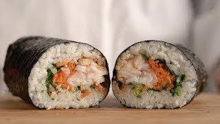 Black Cod Sushi Burrito