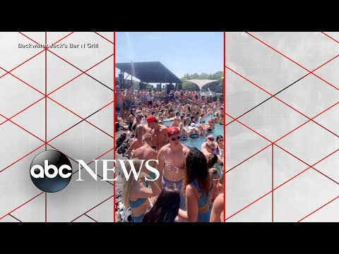 Video of a Memorial Day pool party in Missouri sparks outrage amid the pandemic