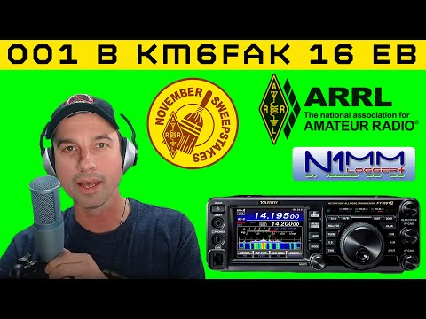 ARRL Sweepstakes Contest w/ FT-991A