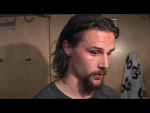 Se en intervju med Erik Karlsson efter sista matchen mot Rangers här!