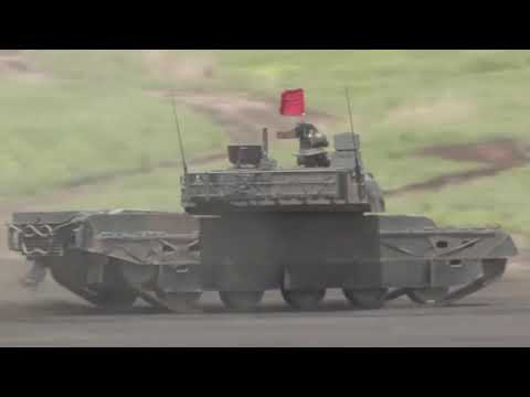Japan shows modern Type 10 tank in action