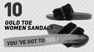 Gold Toe Women Sandals // New & Popular 2017