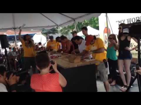 Bytowne Oysterfest Shucking Competition