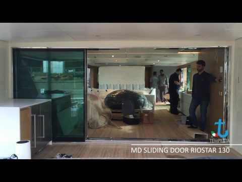 Main Deck Electric Sliding Door Riostar 130