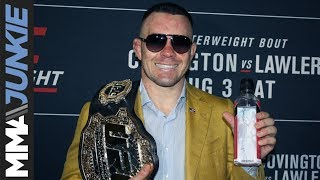 UFC on ESPN 5: Colby Covington post fight interview