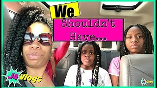 We Shouldn't Have Done This | Family Vlogs | JaVlogs