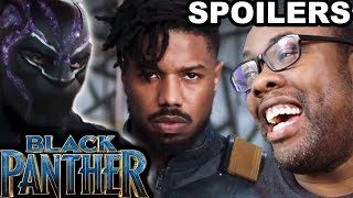 BLACK PANTHER MOVIE SPOILERS REVIEW - Black Nerd