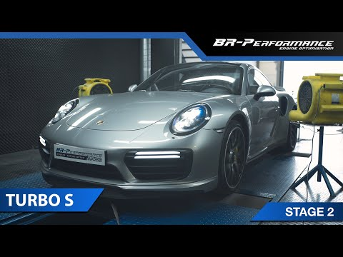 Porsche Turbo S With EUROPIPE Exhaust / Stage 2 by BR-Performance