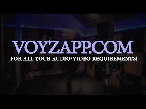 Professional voice actors, quick TAT, compare prices and hire online @Voyzapp