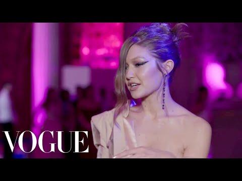 Gigi Hadid on the Inspiration Behind Her Met Gala Dress | Vanity Fair