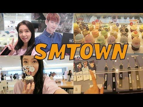 SMTOWN COEX ARTIUM ♥ SM CAFE + GIFT SHOP! SM 코엑스 아티움
