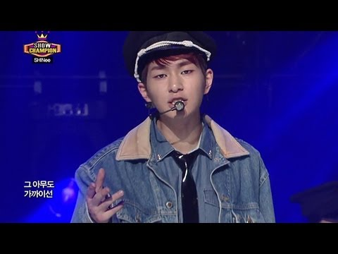 SHINee - SHINe, 샤이니 - 샤인, Show champion 20130501