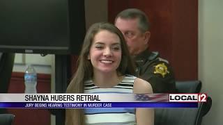 Testimony begins in Shayna Hubers second murder trial