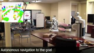 Navigation in Cluttered Environments for Mobile Manipulation (ICRA 2012)