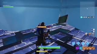 Fortnite found an new place in creative on frosty fortress