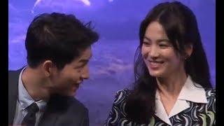 Song Joong Ki & Song Hye Kyo Sweetest And Precious Moments