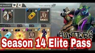 #Free Fire Season 14 Elite Pass Full Details and Full Information||
