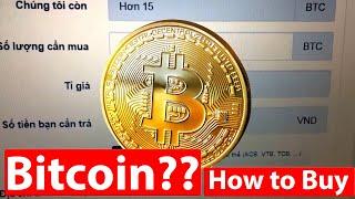 Cách mua bitcoin ngay lập tức bằng tài khoản Vietcombank hoặc ACB, Techcombank