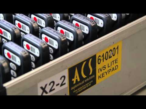 ACS audiovisual solutions | Newsflash 2015 | voting systems UK