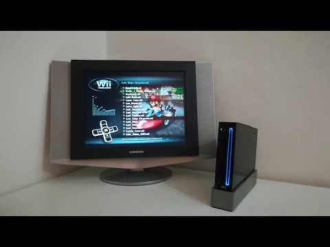 Playing Last Ninja Megamix C64 SID on the Nintendo Wii (DragonMedia Player)