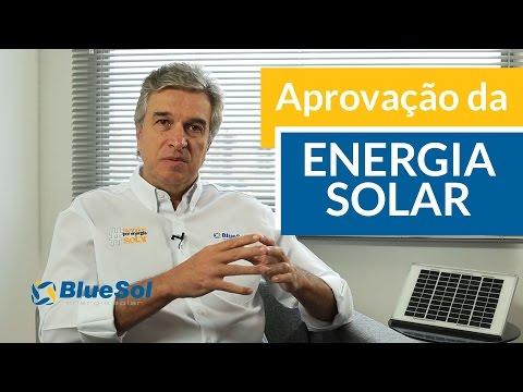 Aprovação da Energia Solar