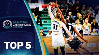 Top 5 Plays - Wednesday - Gameday 11 - Basketball Champions League 2018-19