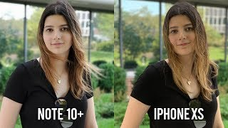 Samsung Note 10 Plus Camera vs. iPhone XS!