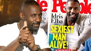 Idris Elba Finally Named Sexiest Man Alive! What Took So Long?!