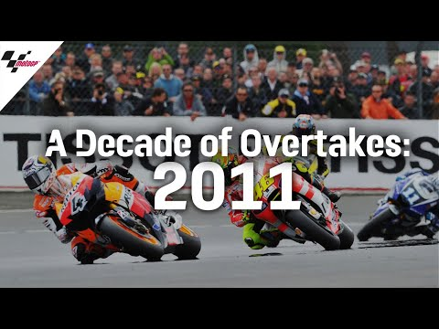 The Best Overtakes from 2011