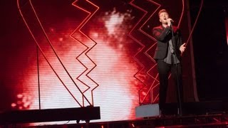 James Arthur sings The Power Of Love - Live Week 9 - The X Factor UK 2012