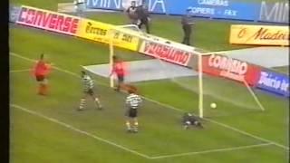 Sporting - 3 x Penafiel - 1 de 1991/1992