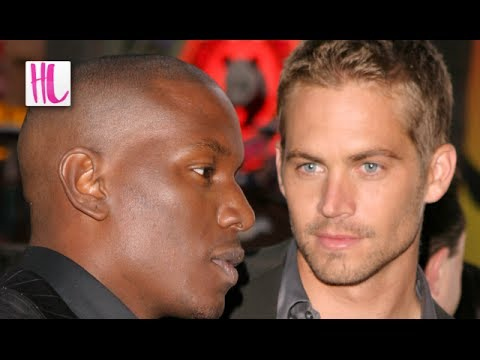 Tyrese Gibson Cries For Paul Walker Car Crash Death - Smashpipe Entertainment Video